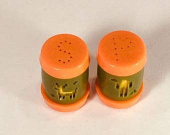 Vintage 1960-70's St Labre Indian School Salt & Pepper Shakers