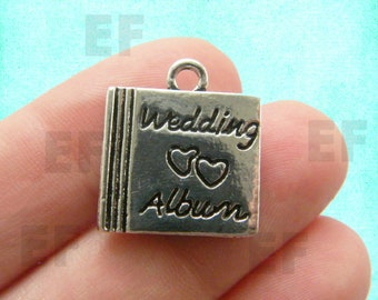 2 Wedding Album Charms- EF00337