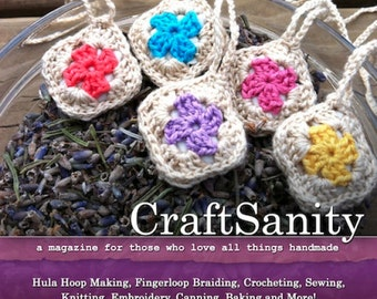 SALE! CraftSanity Magazine Issue 7 Print Edition