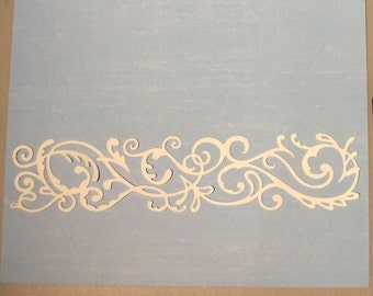 Quickutz Flourish Border Die Cuts - Bazzill