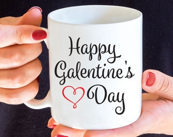 Happy Galentines Day Mug, Parks and Rec, Best Friend Mug, BFF Coffee Mug, Leslie Knope Mug, Valentine's Day, Leslie and Ann, Friends Mug
