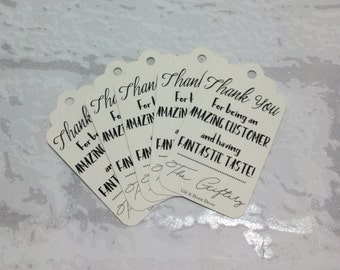 Personalised Business Tags, Thank you Labels, Amazing Customer Tags, Customised Business Tags, Logo Tags, Product labels, Swing Tags.