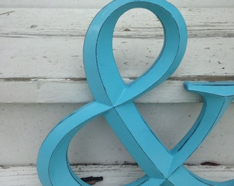 Wall Decor / Ampersand /  Symbol / Wedding Prop