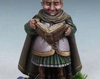 DiTerlizzi Masterworks: Friar Stout, Halfling Cleric - 4610 - Dark Sword Miniatures