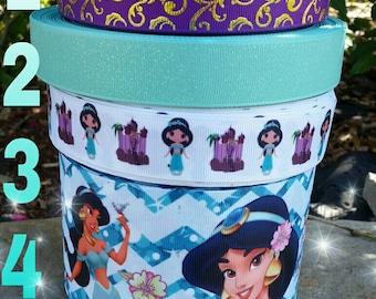 Jazmin ribbon, Aladdin ribbon, Princess ribbon,  Princess Jazmin ribbon, ribbons, crafts