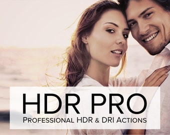 HDR Pro - Tone Mapping & DRI Effect Photoshop Actions