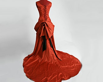 Moulin Smoldering Temptress Satine Red Gown
