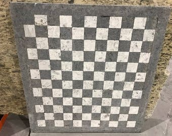 Checkerboard Style Table Top, Granite Table Top