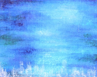 I came up once and hollered... Original abstract painting 100x50cm