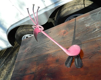 Pink Flamingo Golf Bid by JunkFX