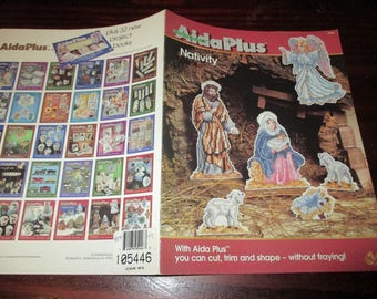 Counted Cross Stitch Leaflet Zweigart Aida Plus Nativity 4806