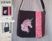Unicorn bag flap for LARG...