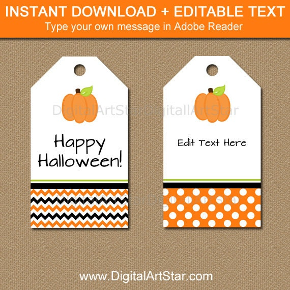 Halloween gift tags geccetackletarts halloween gift tags printable negle Gallery