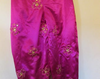 06 - Harem pink fuchsia for belly dance