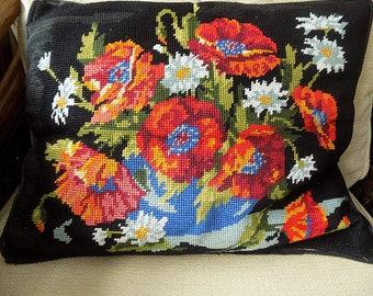 Vintage Tapestry Handmade Floral Cushion| Cushion | English Country Garden Cushion