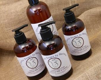 Oatmeal Milk and Honey Liquid Hand Soap 16 oz bottle refill size