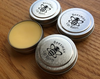 Beeswax peppermint cocoa lip balm