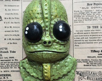 Sleestak Land of the Lost ornament