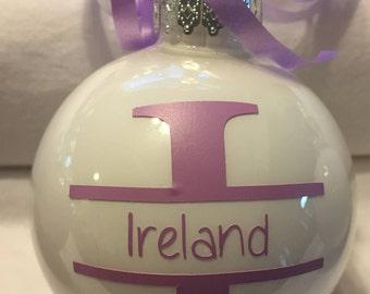 Custom! Personalized! Christmas ornament