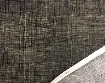 Black Weave Fabric