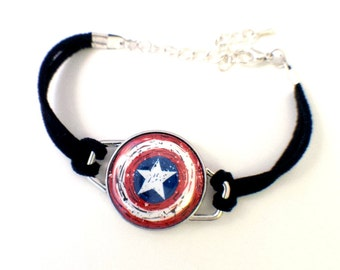 Avengers Bracelet | Magnetic Avengers Bracelet | Loki, Thor, Black Widow, Iron Man, Hawkeye, Captain America, Winter Soldier, The Hulk