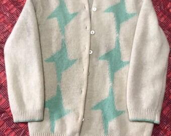 Vintage Stéfano Wool Blend Cardigan