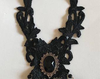 Vintage Victorian Lace Choker