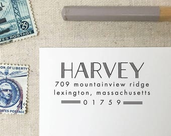 Return Address Stamp. Style 70. Self-Inking Stamp. Wooden Stamp. Wooden Mailing Stamp. Custom Address Stamp. Self-Inking Address Stamp.