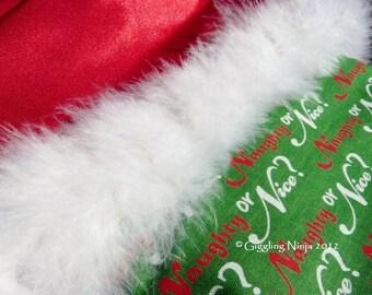 Naughty or Nice Holiday Stocking