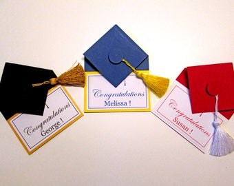 Graduation Gift Card Holders, Money Holder, Money Envelope, Congratulations graduation cards money cards, high school grad personalized gift
