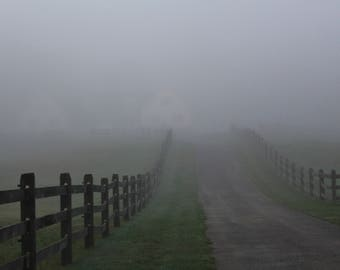 Farm in the Fog