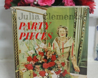 Julia Clements - Party Pieces Classic Vintage Retro 1960's decorating Book