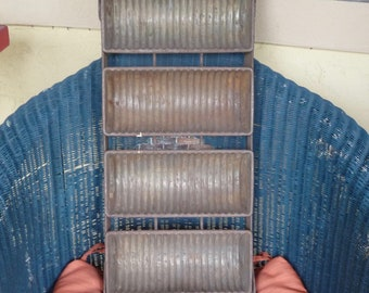 Commercial Metal Connected Loaf Pans - 4 Ridged Loafs