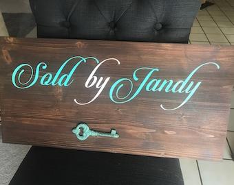 "Realtor""Sold"" Sign"