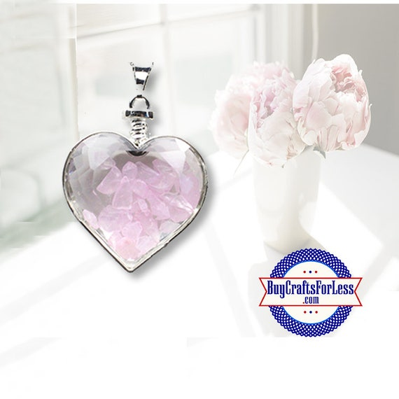 CLEARANCE Crystal PENDANT, Reiki Crystal, Pink Quartz +FREE SHiPPING & Discounts*