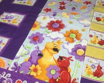 Purple Bird Quilt