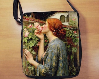 Waterhouse The Soul of the Rose, Small Shoulder Bag, Small Crossbody Bag, Small CrossBody Purse, Cross Body Bag, Sling Bag, Small Purse, Bag
