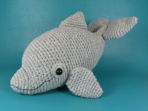 Free Amigurumi Dolphin Pattern : Dolphin pdf amigurumi crochet pattern
