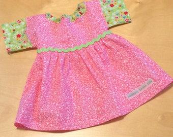 Doll Clothes Waldorf Doll Dress for 15/16-inch Waldorf Doll