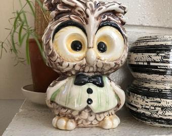 Vintage ceramic owl
