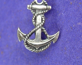 Sweetheart USN Pin silver Anchor sterling Lapel Pin Pendant Military Veteran Retirement United State Navy uniform accessory
