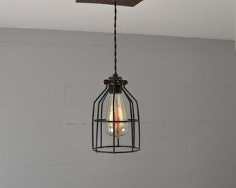 Pendant Light - Pendant Lighting - Reclaimed Wood - Pendant fixture - Ceiling Pendant - Flush Mount Pendant - Home lighting - light fixture
