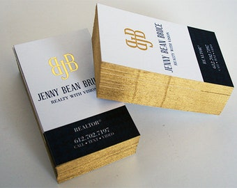 32pt silk business cards with gold foil and painted edges 500 32pt silk business cards with gold foil and metallic gold edges reheart Gallery