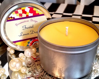 Scented Candle - Frosted Lemon Drop