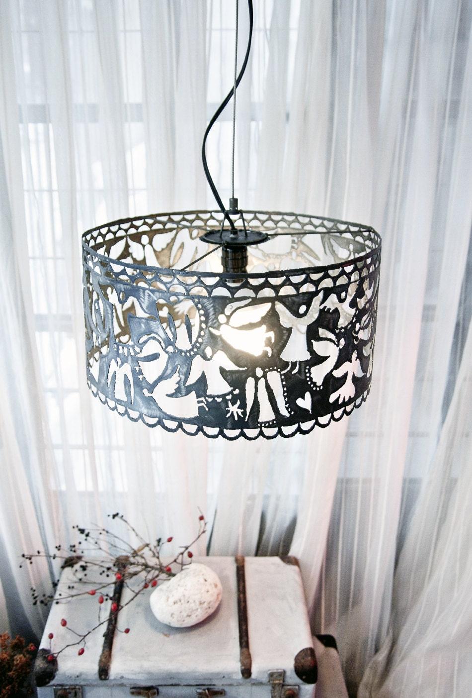 einzigartige lampe design metall h ngende lampe anh nger lampe. Black Bedroom Furniture Sets. Home Design Ideas