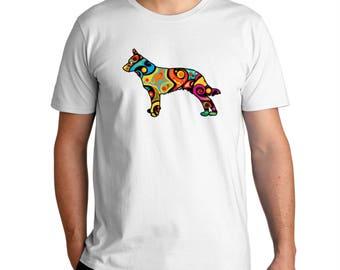 Psychedelic Blue Heeler T-Shirt