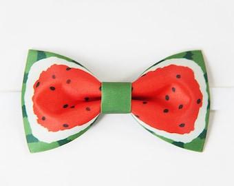 Fait à la main avec noeud papillon de melon d'eau