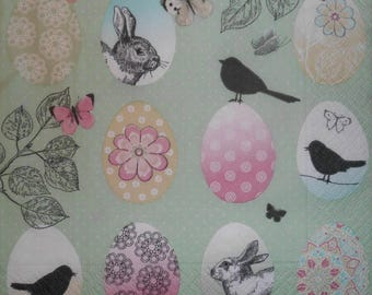 159 theme Easter napkin