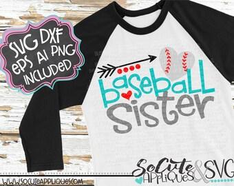 Baseball sister svg design, little sister biggest fan, baseball svg, baseball shirt, baseball cut file, sister svg, socuteappliques