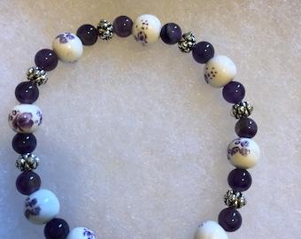 Reiki Infused SemiPrecious Gemstone Bracelet